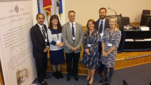 BAPS visit to Romania conference