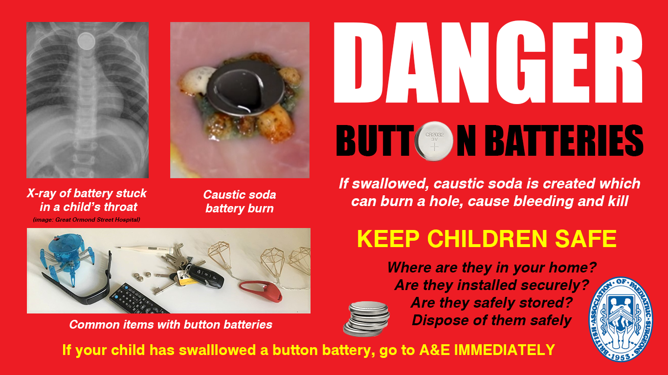 BAPS Button Battery Safety Flier for Twitter and Facebook