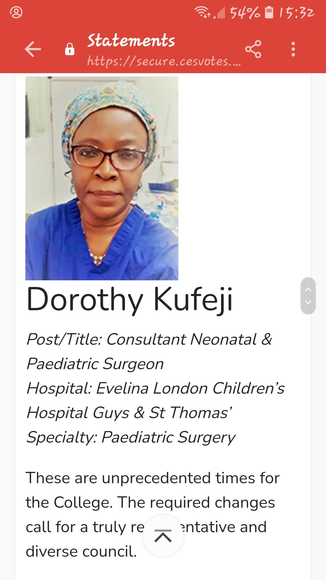 Dorothy Kufeji